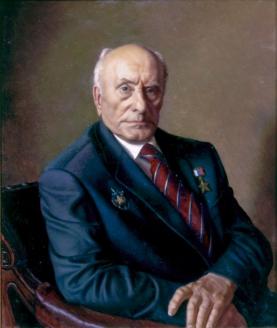 Портрет А.Н. Ботяна работы А.М. Шилова