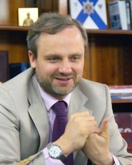 Генеральный директор Свердловской киностудии Михаил Чурбанов