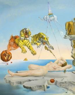 """""""Сон, навеянный полетом пчелы вокруг граната, за миг до пробуждения"""". 1944 г."""