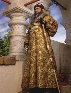 Владимир Жириновский в образе царя Ивана Грозного