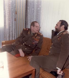 С Ф. Кастро