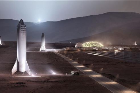 Колонизация Марса по версии Илона Маска